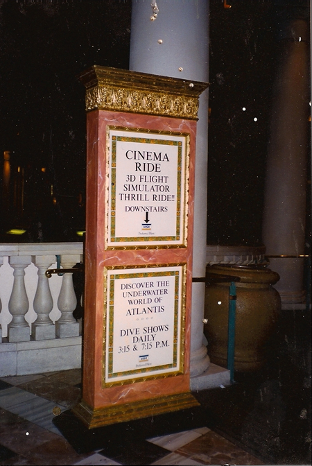 Info Kiosk at Caesar's Palace
